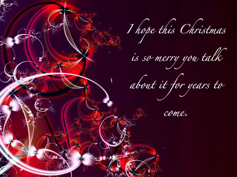 i hope this christmas is so merry you talk about it for years to come - Hope For Christmas