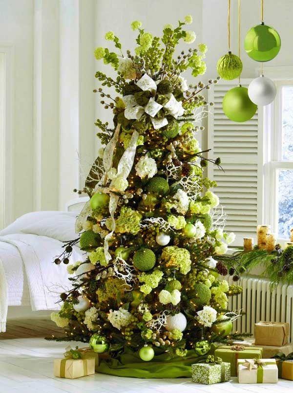Lime Green Christmas Tree