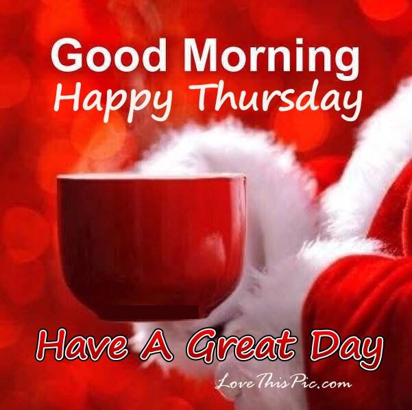 Good Morning Happy Thursday : Christmas good morning happy thursday quote pictures