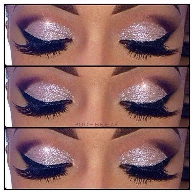 Easy Glitter Eye Makeup Pictures Photos And Images For Facebook