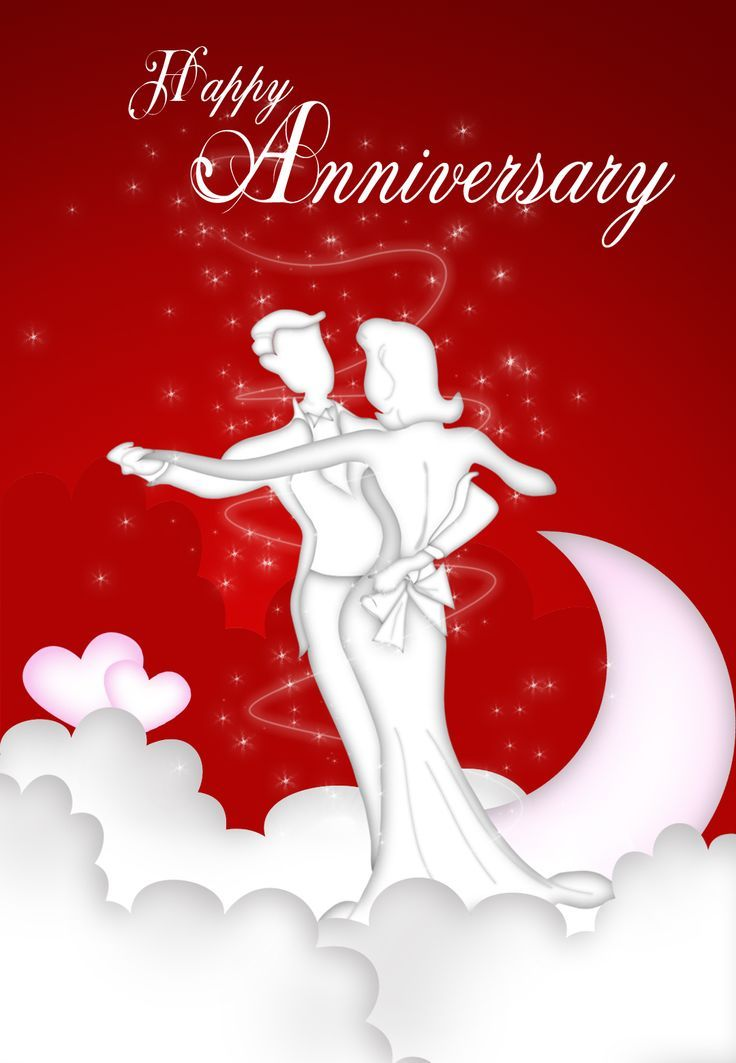 Gorgeous image for free printable anniversary cards for couple