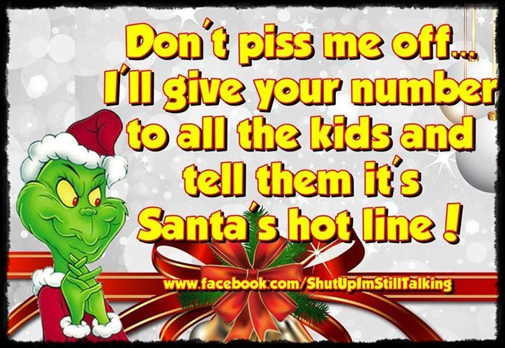 funny grinch christmas quote