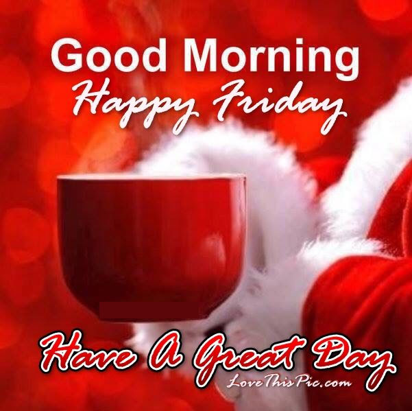 Christmas Good Morning Quotes: Christmas Good Morning Happy Friday Quote Pictures, Photos
