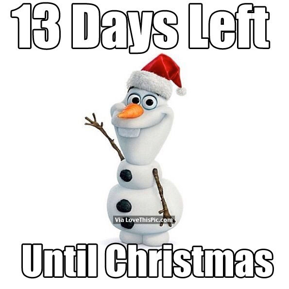 How Many Days Left Until Christmas.13 Days Left Until Christmas Pictures Photos And Images