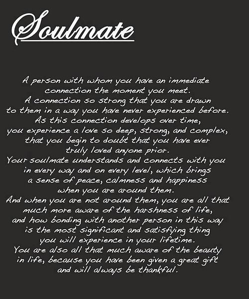 Soulmate Quote Pictures, Photos, And Images For Facebook