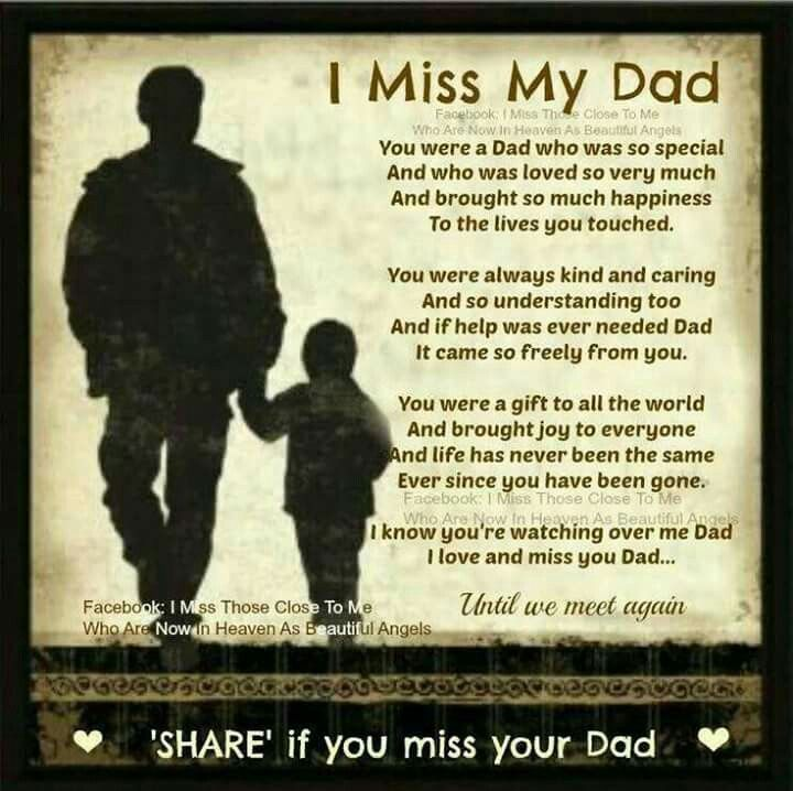 Missing Dad Quotes I Miss My Dad Pictures, Photos, and Images for Facebook, Tumblr  Missing Dad Quotes