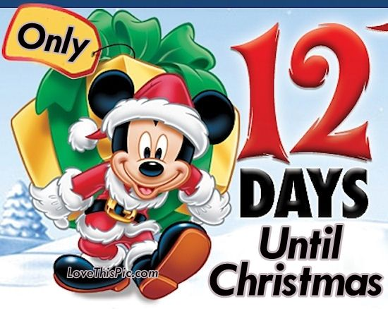 only 12 days until christmas