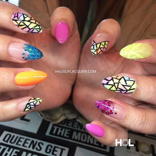 Multi Designed Nails Pictures Photos And Images For Facebook