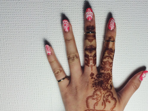 Lace Henna Nail Art - Lace Henna Nail Art Pictures, Photos, And Images For Facebook