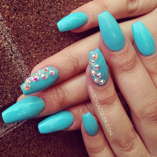 Baby Blue Nail Art - Baby Blue Nail Art Pictures, Photos, And Images For Facebook, Tumblr