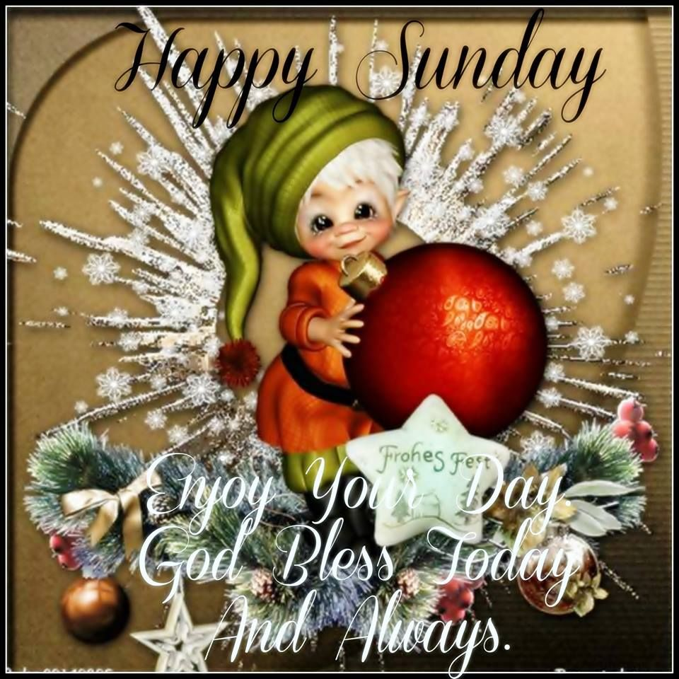 happy sunday christmas time quote - Christmas Sunday