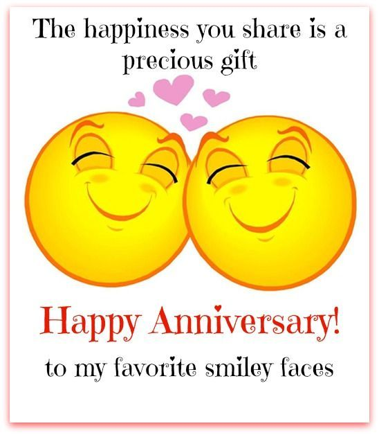 Happy Anniversary To My Favorite Smiley Faces Pictures, Photos, and Images fo...