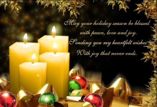 f9201f81f3c May Your Holiday Season Be Blessed With Peace, Love And Joy ...