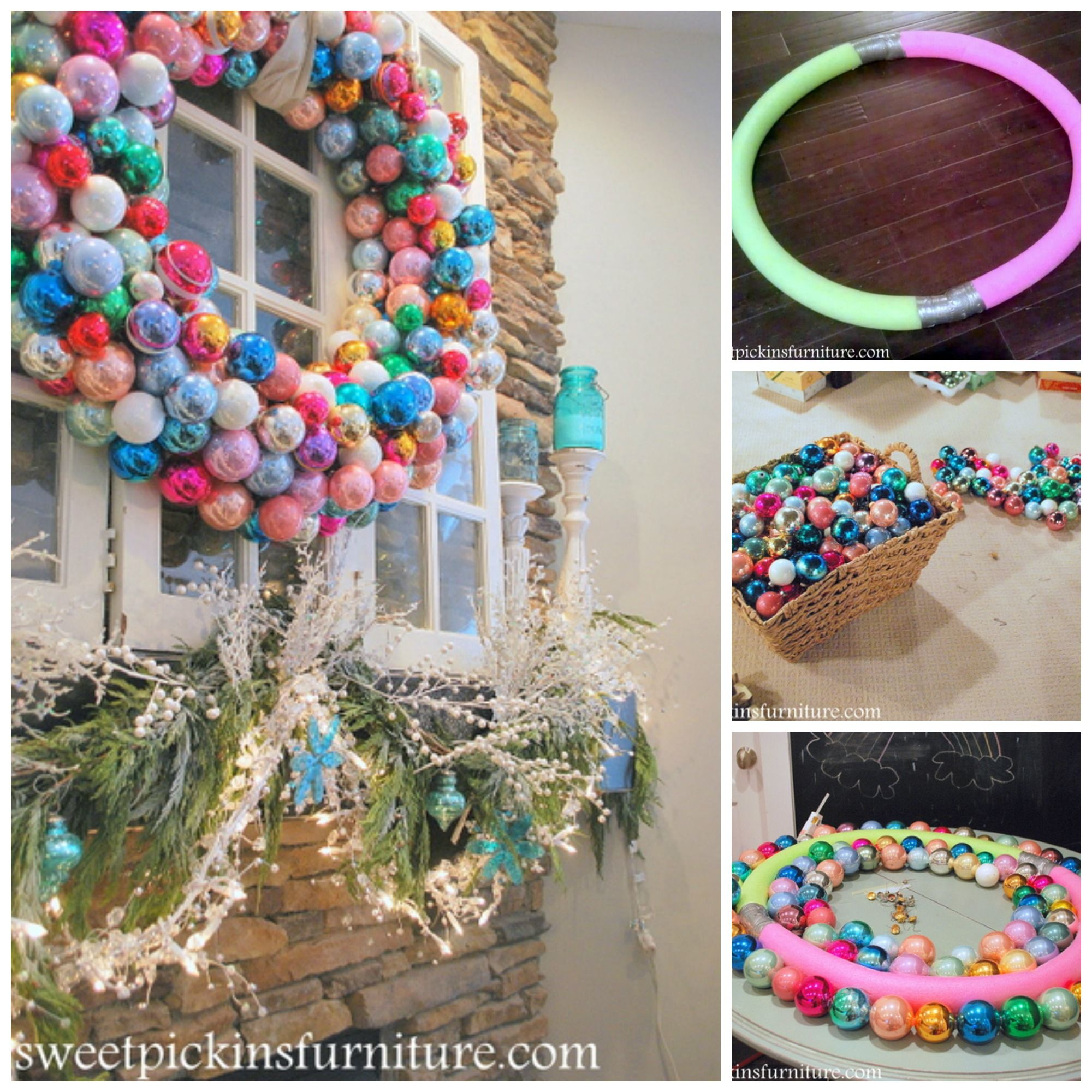 Pool Noodle Crafts Christmas How To Make