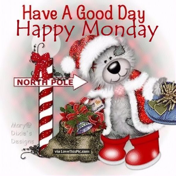 Christmas Good Morning Quotes: Have A Good Day Happy Monday Pictures, Photos, And Images