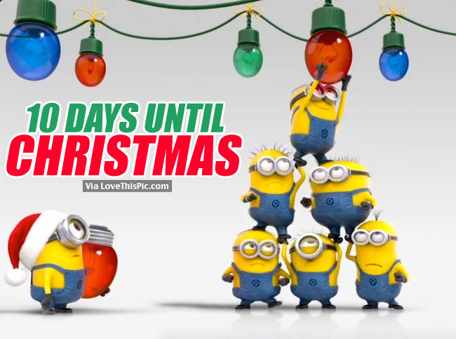 10 days until christmas pictures photos and images for facebook tumblr pinterest and twitter