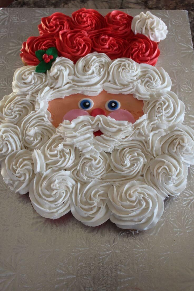 Santa Christmas Cake Pictures Photos And Images For