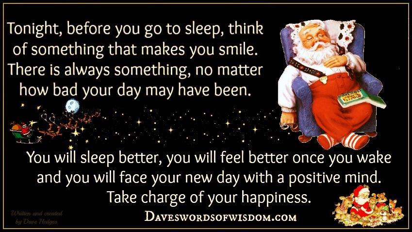 Stay Positive Good Night Christmas Quote Pictures, Photos, and ...