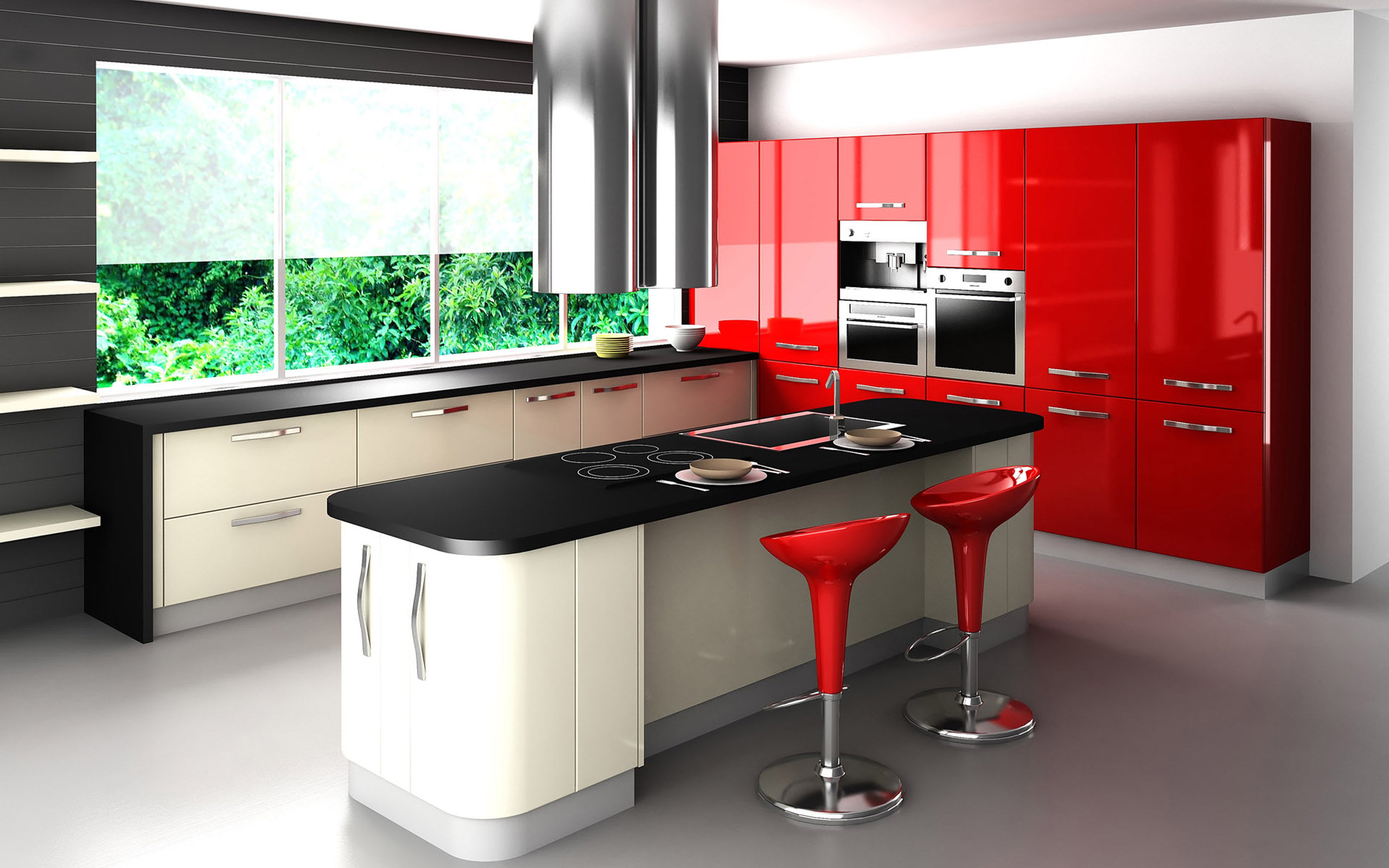 Red Kitchen Design Elegant Red Kitchen Design Pictures Photos And Images For