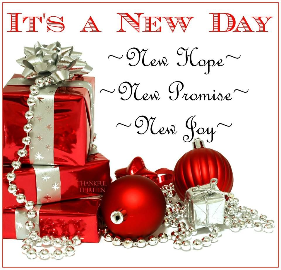 Its A New Day Christmas Good Morning Quote Pictures, Photos, and ...