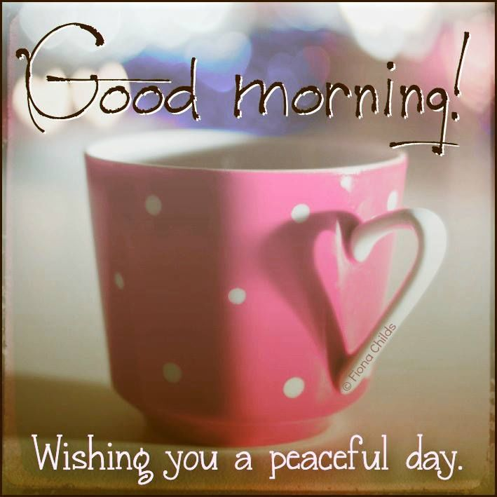 Good Morning Wishing You A Peaceful Day Quote Pictures, Photos, and Images  for Facebook, Tumblr, Pinterest, and Twitter