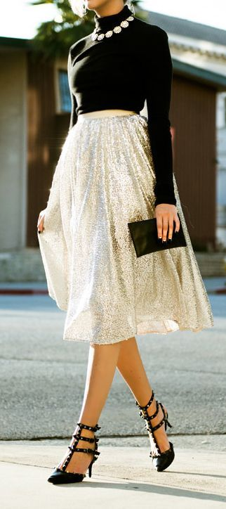 Tulle Midi Skirt For The Holidays Pictures Photos And