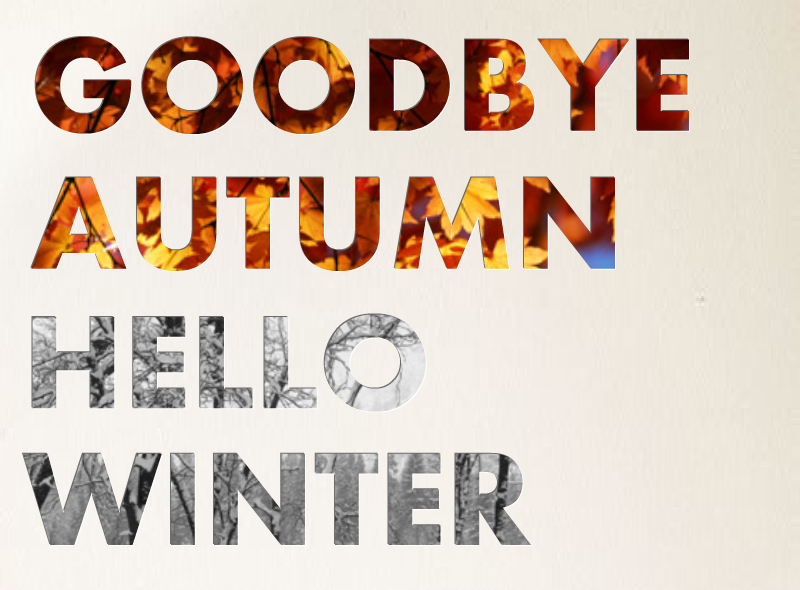 Goodbye Autumn, Hello Winter Pictures, Photos, and Images ...