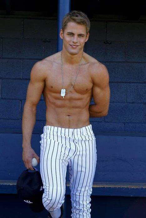 Sexy male baseball players picture 801