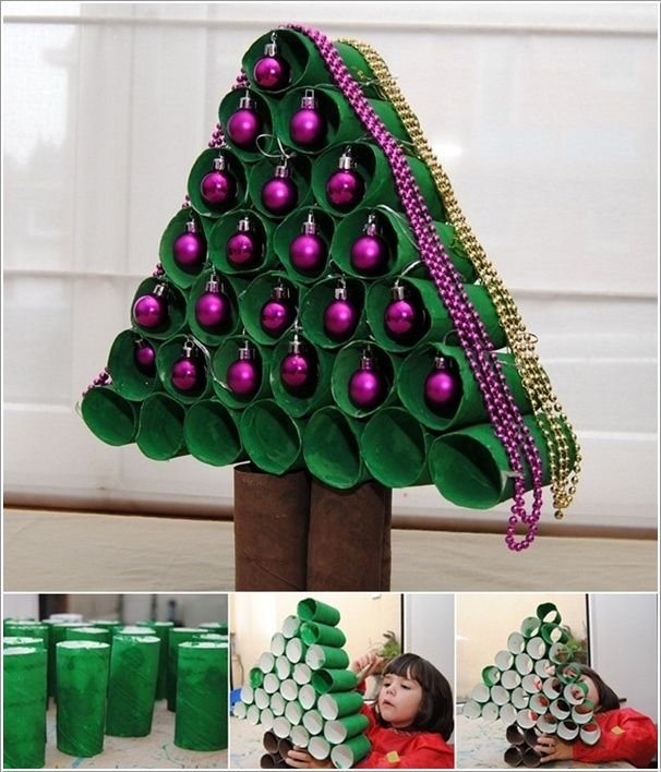 Diy Paper Roll Christmas Tree Idea Pictures Photos And Images For