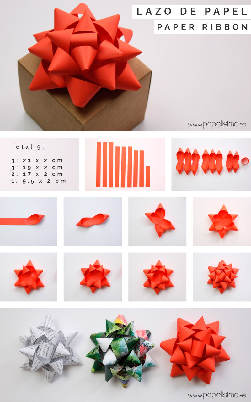 how to make your own christmas bows