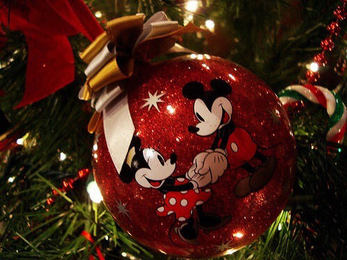 mickey and minnie mouse christmas ornaments