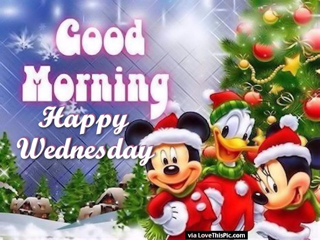 Christmas Good Morning Quotes: Christmas Good Morning Happy Wednesday Pictures, Photos