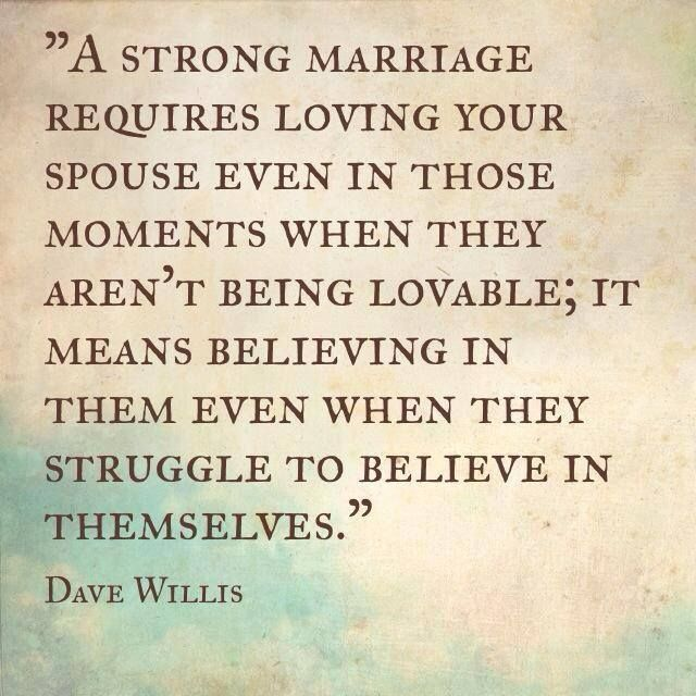 A Strong Marriage Requires... Pictures, Photos, And Images