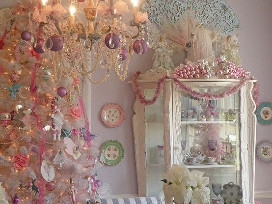 Pink Shabby Chic Christmas Pictures Photos And Images