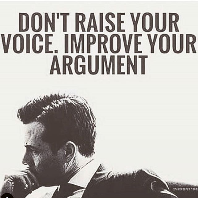 Don't Raise Your Voice, Improve Your Argument Pictures ...