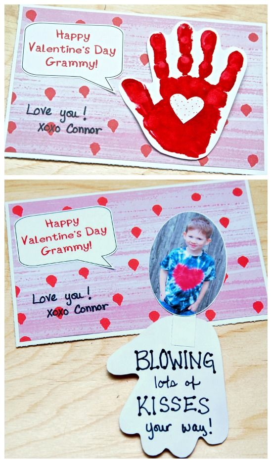Handprint Valentines Day Cards Pictures Photos and Images for – Valentine Cards for Facebook