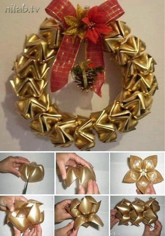 Mothers Love Quote: DIY Wreath From Plastic Bottles Pictures, Photos, And
