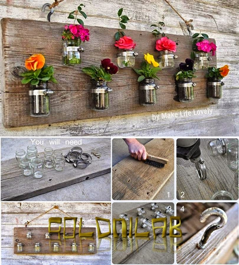 Diy Hanging Mason Jar Flower Vases Pictures Photos And Images For