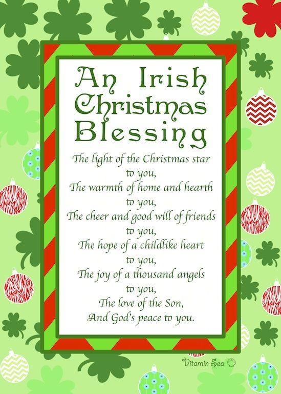 An Irish Christmas Blessing Pictures, Photos, and Images for Facebook, Tumblr...