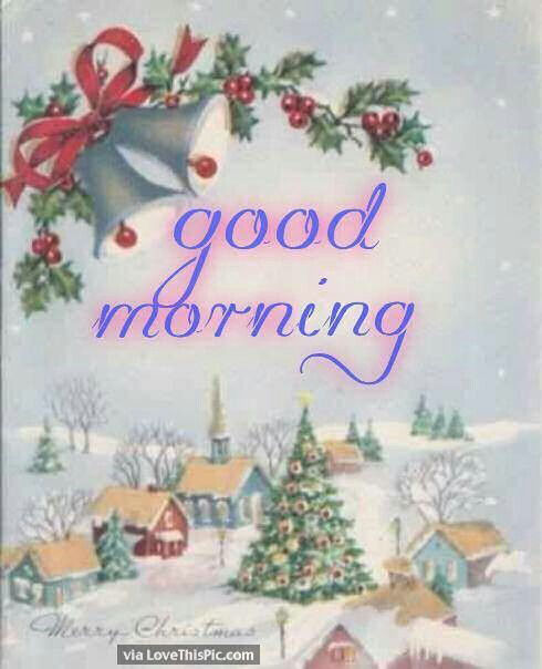 Wonderful Christmas Time Good Morning Quote