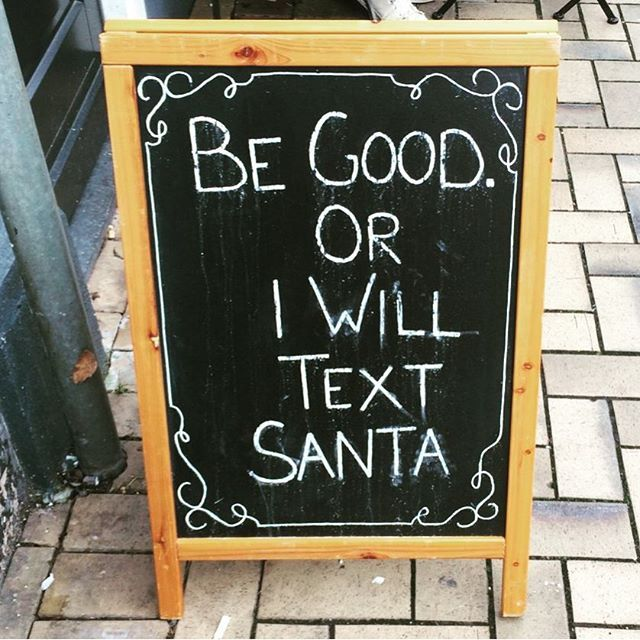 Be Good Or I Will Text Santa Pictures, Photos, and Images