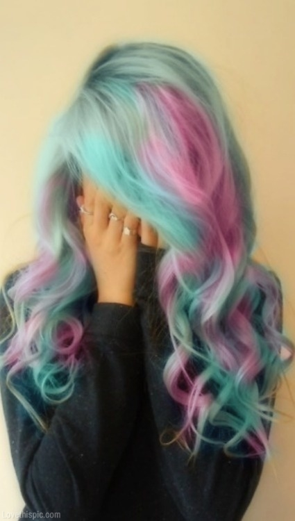 Cotton Candy Hair Pictures, Photos, and Images for ...