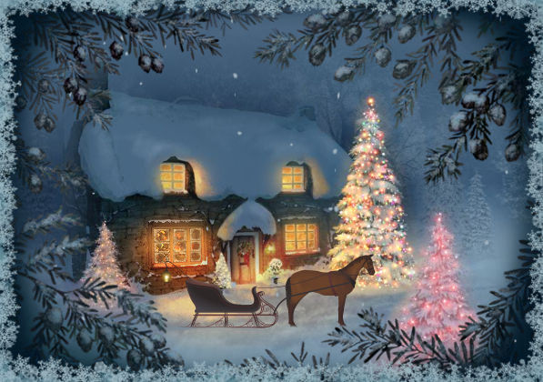 Beautiful Christmas Scene Pictures, Photos, and Images for Facebook ...