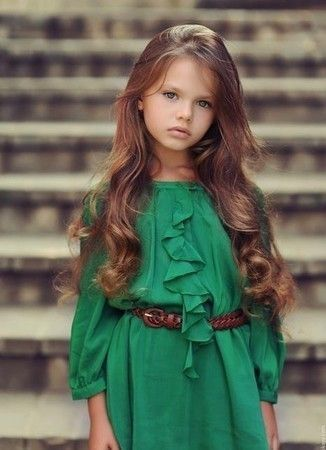 little girl with long hair pictures photos and images