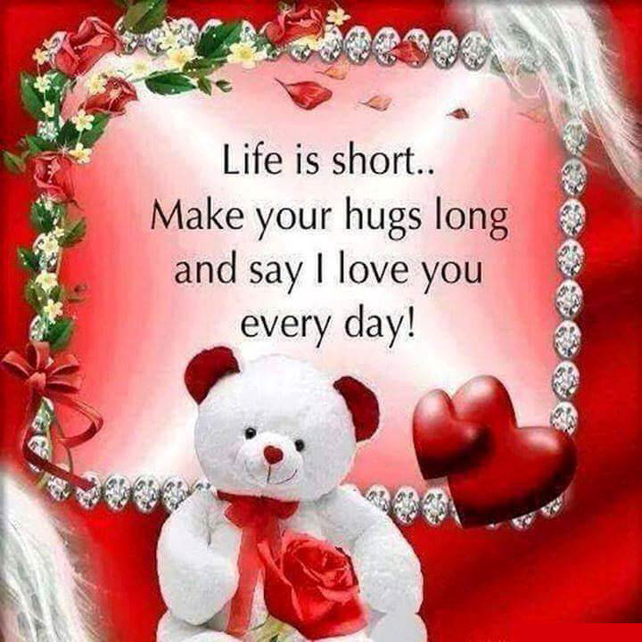 Life Is Short Say I Love You Pictures, Photos, and Images for ...