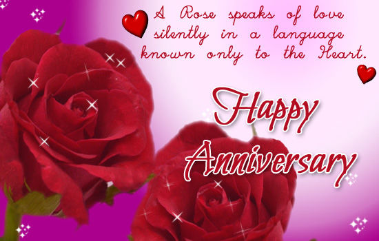 Happy anniversary rose wish inspiring quotes and words in life
