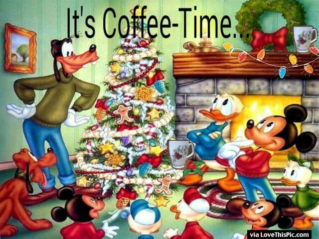 Cute Disney Christmas Quote About Coffee Pictures Photos And Images For Facebook Tumblr Pinterest And Twitter