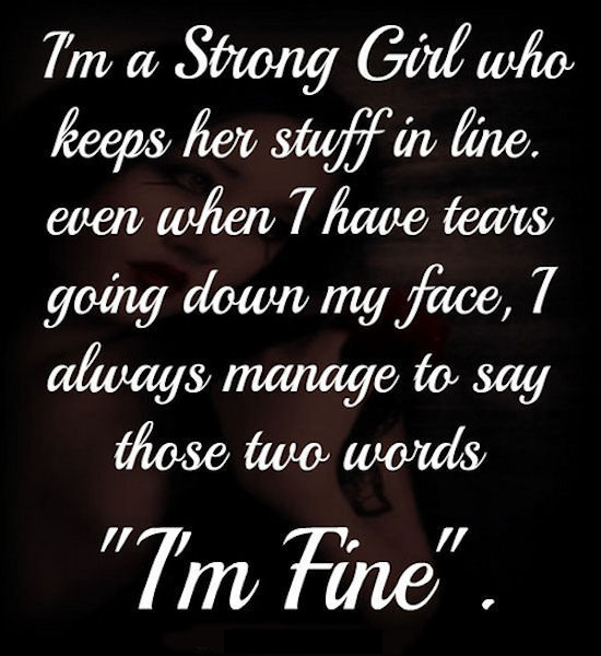 I Am Me Quotes Tumblr I Am A Strong Girl Quo...