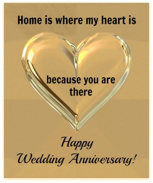 Beautiful Happy Wedding Anniversary Quote