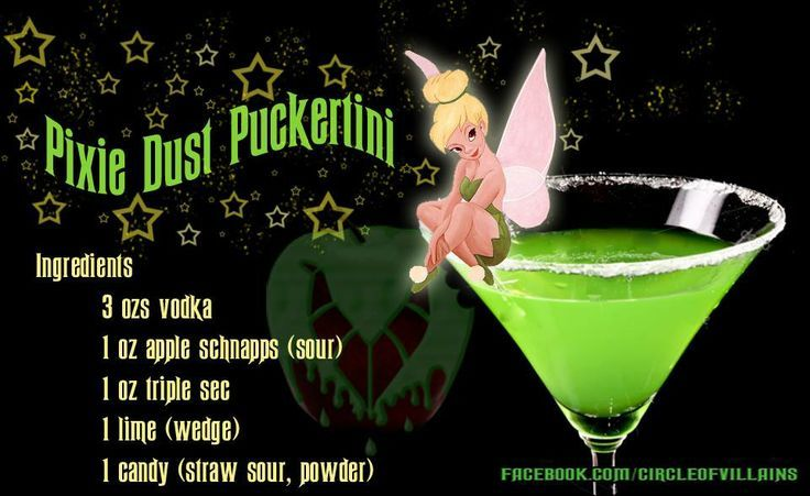 Pixie Dust Puckertini Pictures, Photos, and Images for